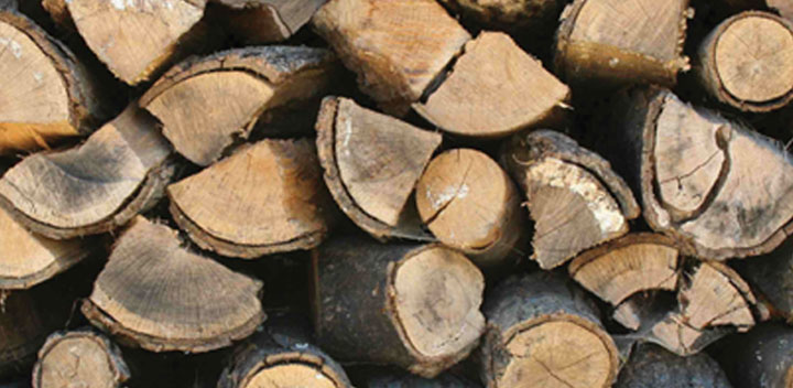 Firewood Delivered £70 per cubic metre